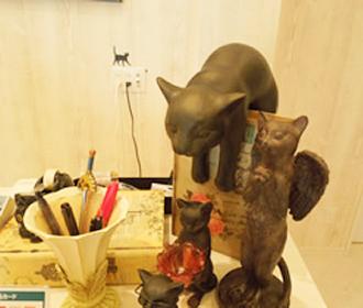 猫のモチーフ
